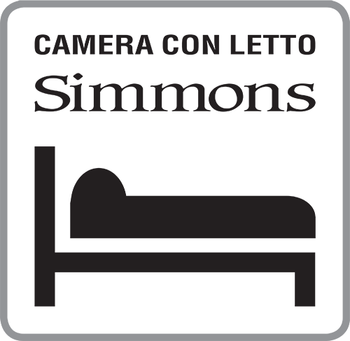 camera con letto simmons